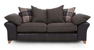Reuben 3 Seater Pillow Back Sofa