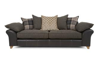 4 Seater Pillow Back Sofa Reuben