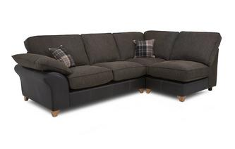 Left Arm Facing Open End Formal Back Corner Sofa Reuben