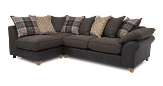 Reuben Right Arm Facing Open End Pillow Back Corner Sofa