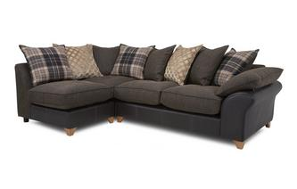 Right Arm Facing Open End Pillow Back Corner Sofa Reuben
