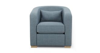 Revive Accent Chair with 1 Plain Bolster
