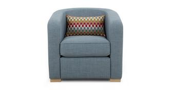 Revive Accent Chair with 1 Pattern Bolster