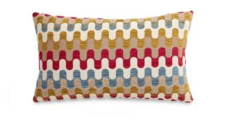 Revive Pattern Bolster Cushion
