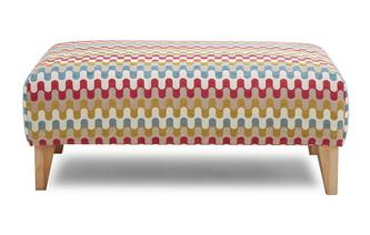 Pattern Banquette Footstool Revive Pattern