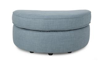 Half Moon Footstool Revive