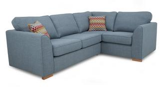 Revive Left Hand Facing 2 Seater Corner Sofa Bed