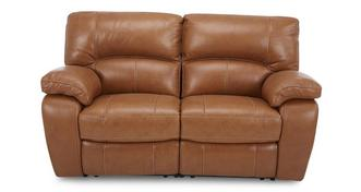 Reward Leather and Leather Look 2 Seater Manual Recliner
