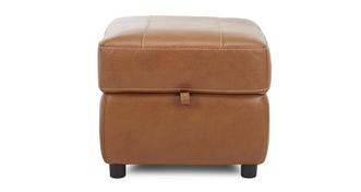 Reward Leather and Leather Look Storage Footstool