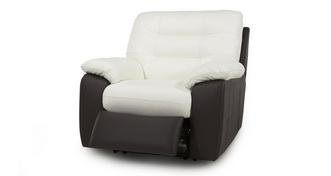 Ripple Leather Battery Recliner Chair