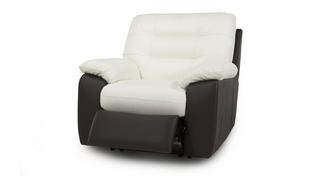 Ripple Leather Electric Recliner Chair