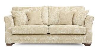 Romney Floral 4 Seater Sofa