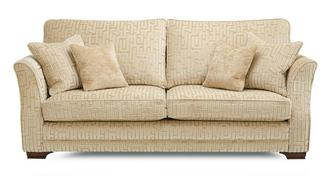Romney Pattern 4 Seater Sofa