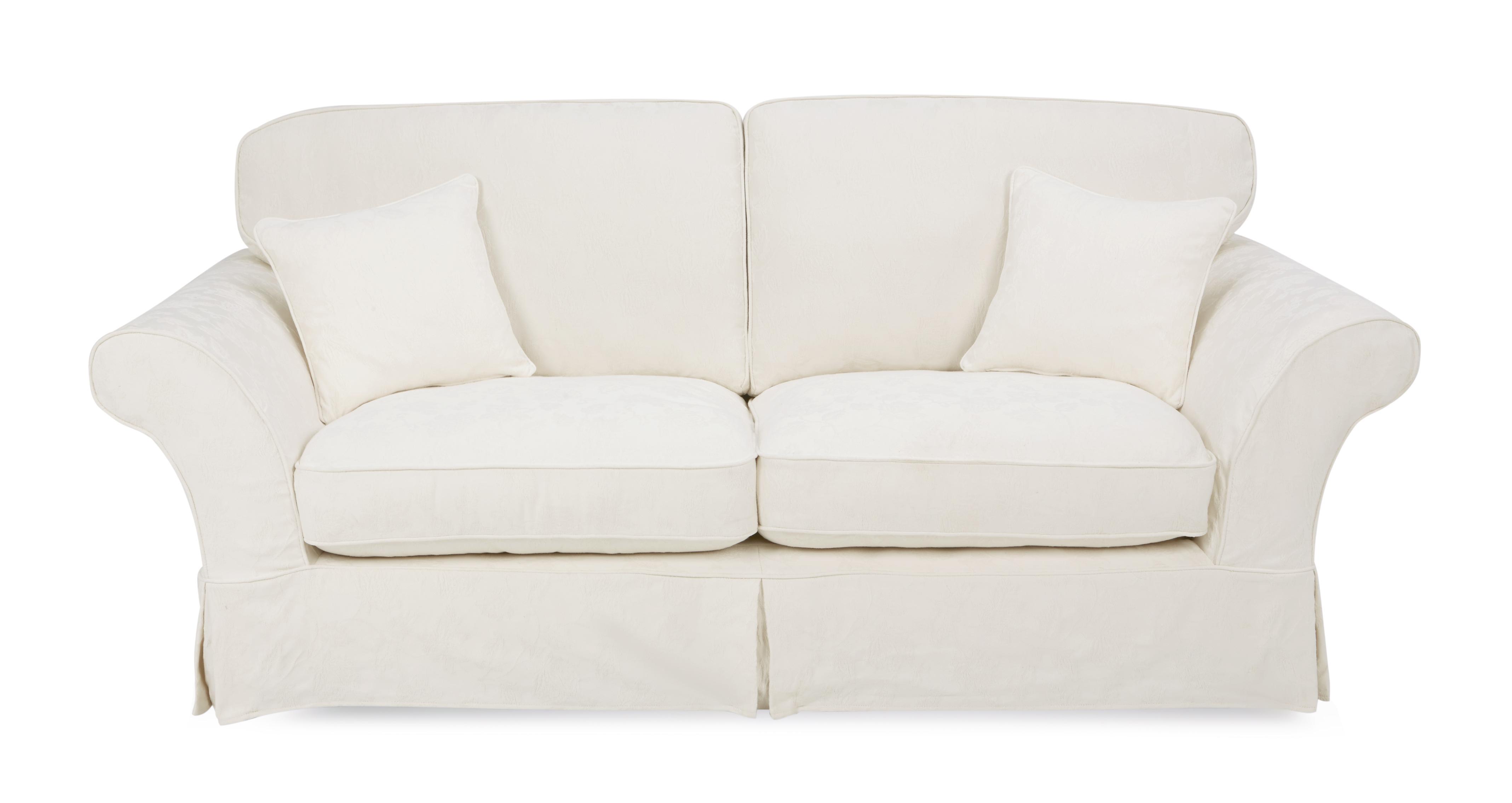 rosa 3 seater formal back sofa dfs. Black Bedroom Furniture Sets. Home Design Ideas