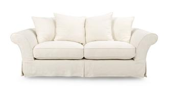 Rosa 3 Seater Pillow Back Deluxe Sofabed