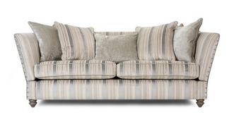 Rosetti 4 Seater Sofa with Studs