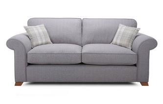3 Seater Formal Back Sofa Bed