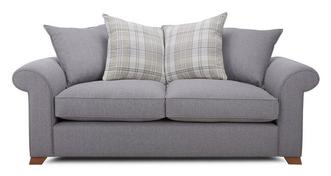 Rupert 3 Seater Pillow Back Sofa Bed