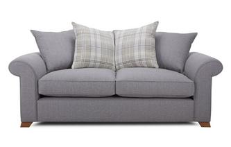 3 Seater Pillow Back Deluxe Sofa Bed Rupert