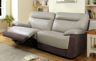 Saint 3 Seater Manual Recliner Bacio Vellutato