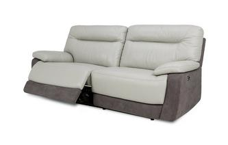 3 Seater Electric Recliner Bacio Vellutato