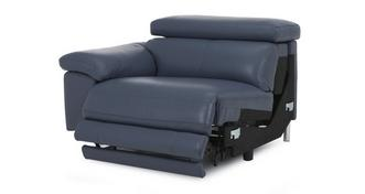 Salone Left Arm Facing 1 Seater Electric Recliner Unit