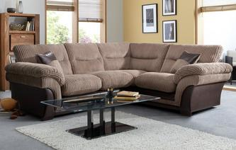 Samson Left Hand Facing 2 Seater Corner Sofa Samson