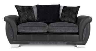 Shannon Large 2 Seater Pillow Back Deluxe Sofa Bed