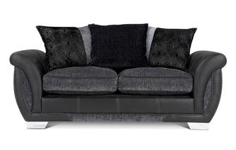 Large 2 Seater Pillow Back Deluxe Sofa Bed Talia