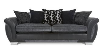 Shannon 4 Seater Pillow Back Sofa
