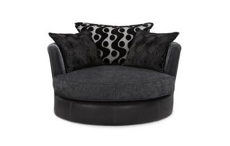 Cuddler Swivel Chair Talia