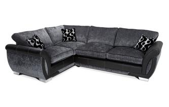 Right Hand Facing 3 Seater Formal Back Corner Sofa Bed