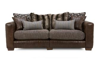 3 Seater Split Pillow Back Sofa