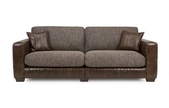 4 Seater Split Formal Back Sofa