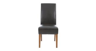 Shiraz Ariana Dark Leg Chair