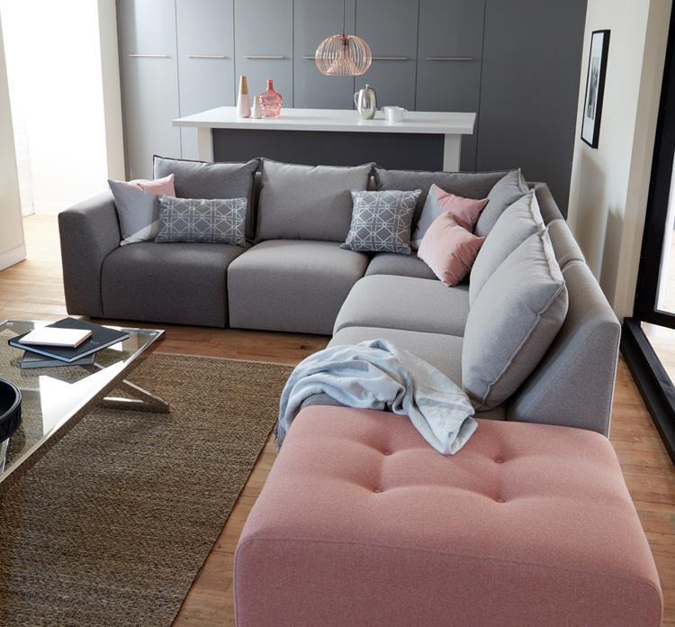 Zania Corner Sofa Roomset