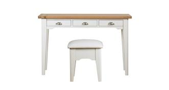 Shore Bedroom Dressing Table & Stool