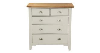 Shore Bedroom 5 Drawer Chest