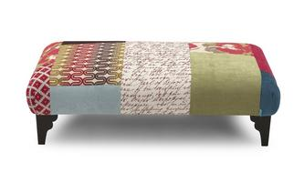 Footstool Shout Patchwork
