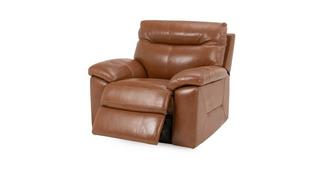 Siesta Leather and Leather Look Manual Recliner Chair