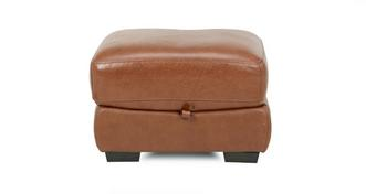Siesta Leather and Leather Look Storage Footstool