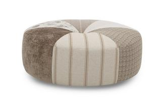Round Pattern Footstool Signature