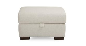 Signature Plain Storage Footstool