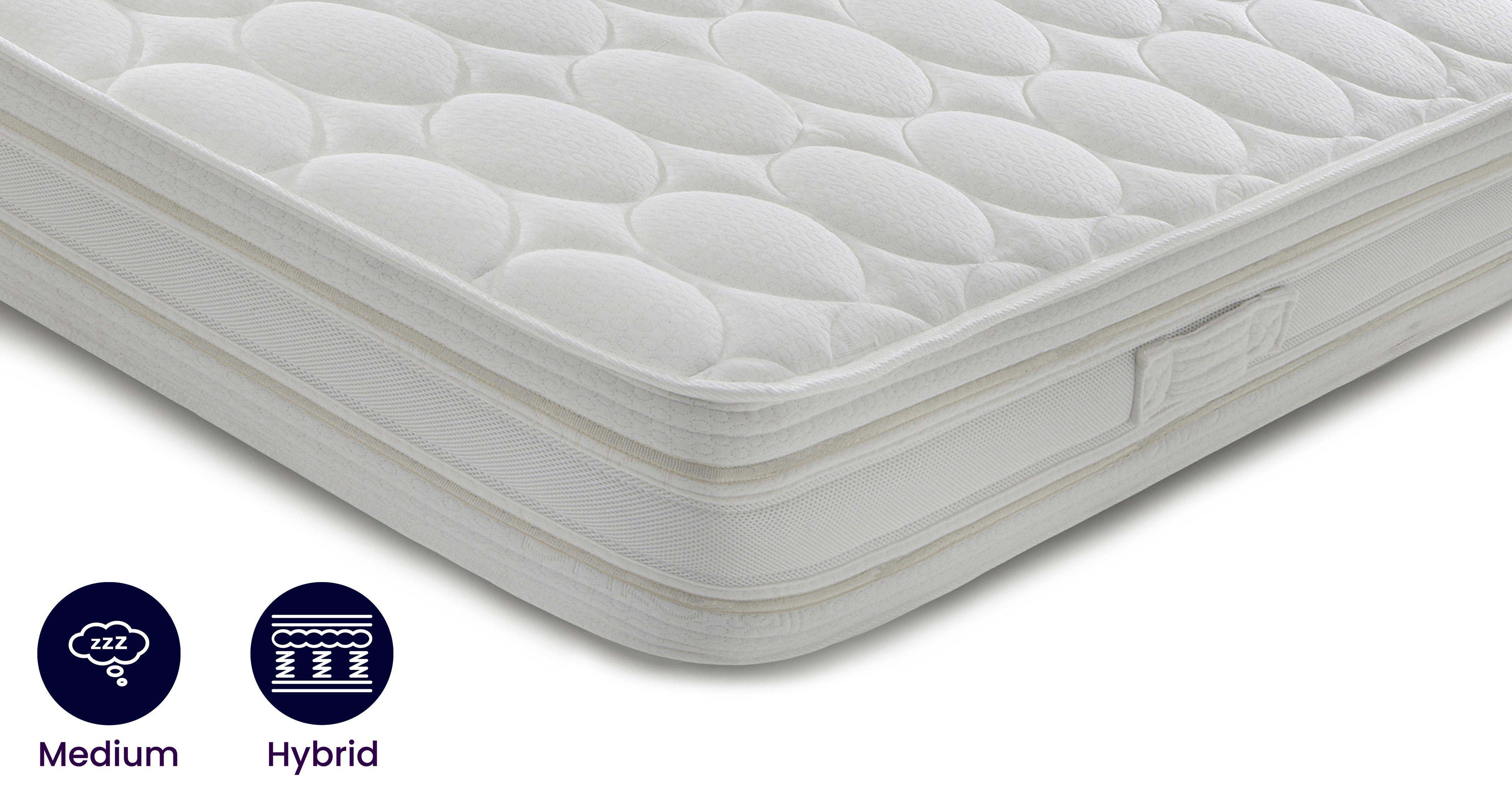 Silk Memory Supreme Mattress King 5 ft Mattress Silk