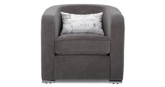 Skill Plain Accent Chair