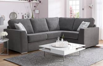 Skill Left Hand Facing Corner Sofa Bed Plaza