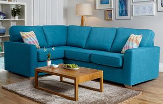 Skye Right Hand Facing 2 Seater Corner Sofa Revive
