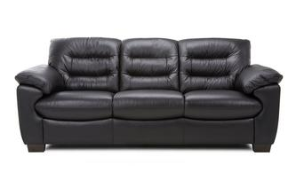 Leather and Leather Look 3 Seater Sofa Essential