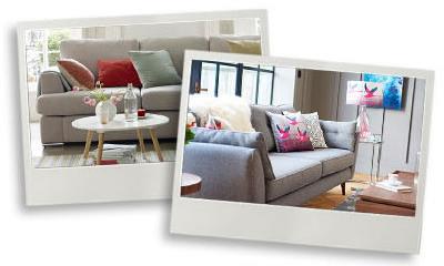 sofa care polaroids