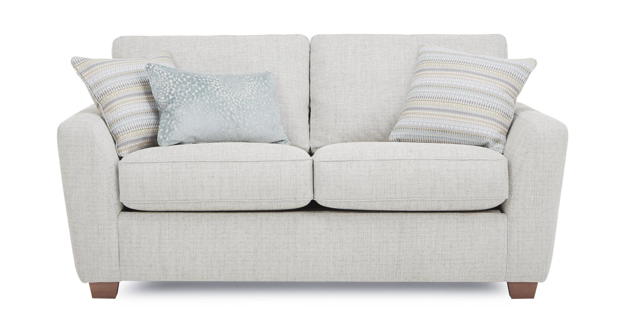 Dfs Sophia Pearl Fabric Medium Deluxe Sofa Bed Ebay